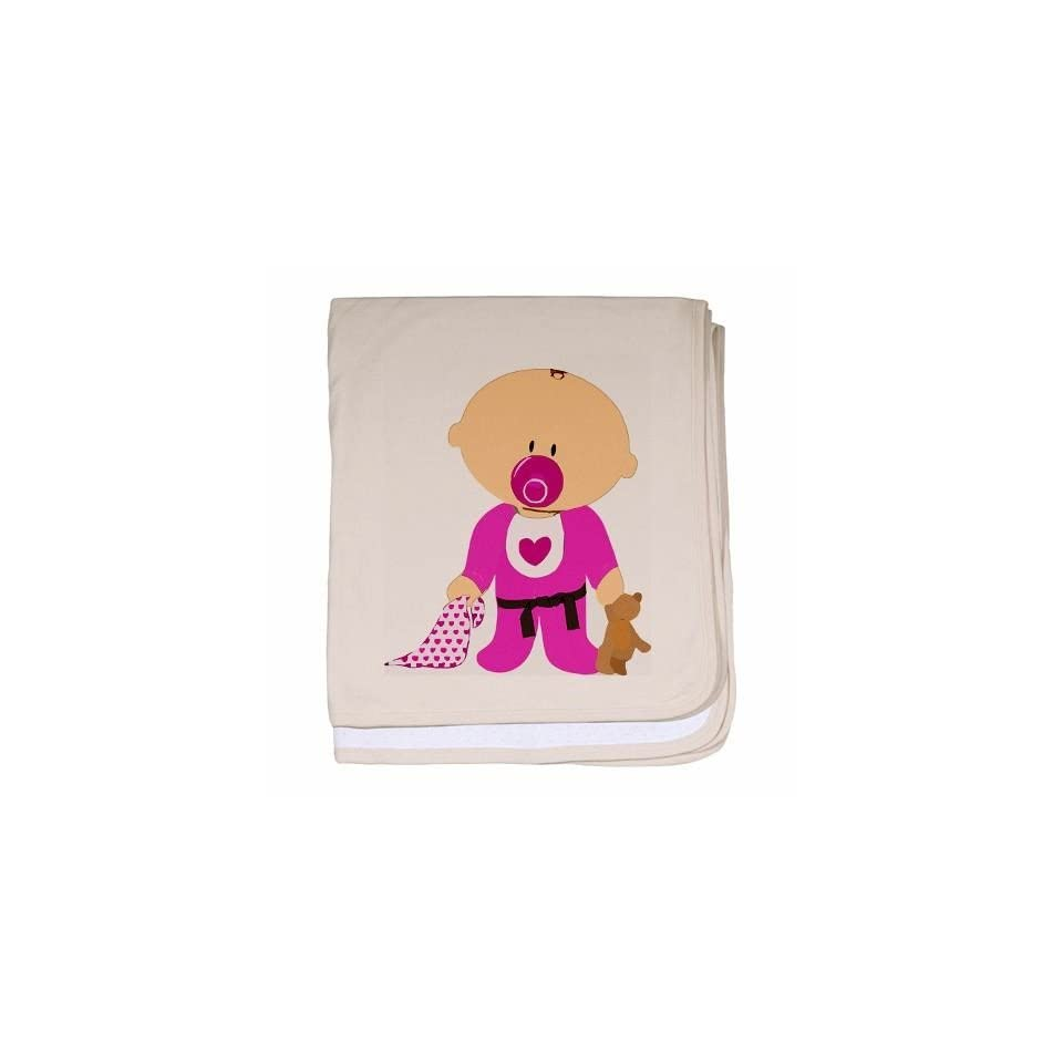 Martial Arts Baby Girl Blanket