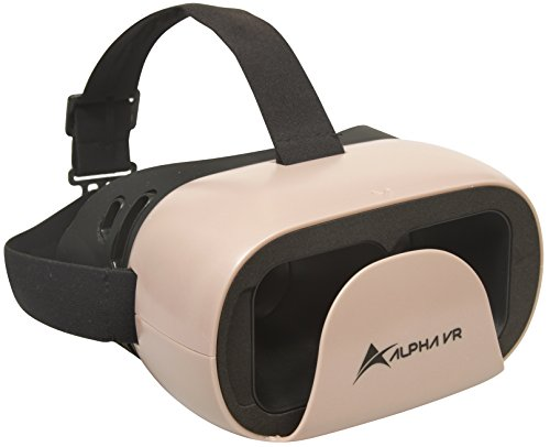 Alpha VR Virtual Reality Headset, Pink