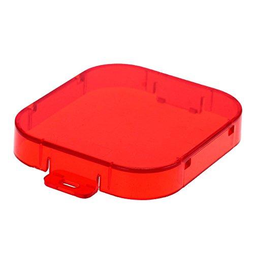 SODIAL(R) Bouchon objectif protection couvercle lentille filtre rouge pour GoPro Hero 3