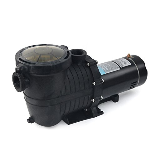 1.5 HP In-Ground Pool Pump With Strainer Basket Dual Voltage 110V/220V