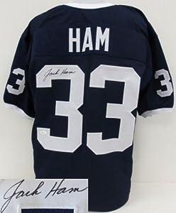 Jack Ham Signed Jersey - Blue Custom JSA ITP - Autographed College Jerseys