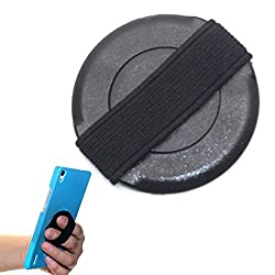 360 Degree Rotation mobile phone android sling mobile holder - finger operated