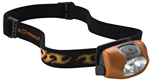 Black Diamond Wiz Headlamp (Orange)