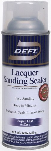 Deft 37125015138 Lacquer Sanding Sealer Spray, 12-Ounce (Wood Sanding Sealer compare prices)