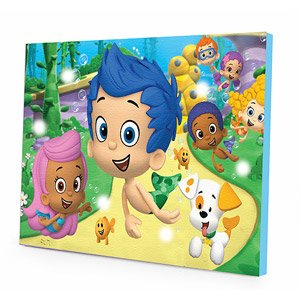 Nickelodeon Bubble Guppies LED Canvas Wall Art - 1