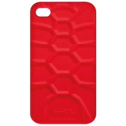 PT Bud Case for iphone 4/ 4s Tuff Turtle Silicone (Red)