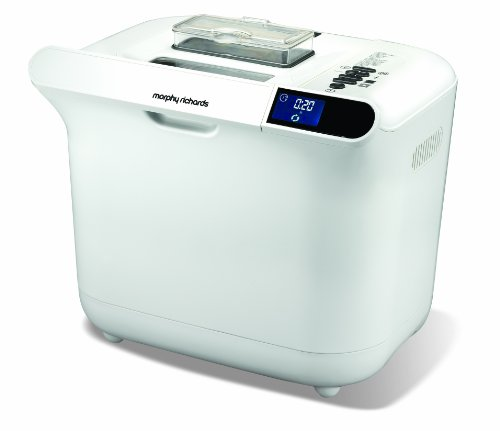 Morphy Richards 48323 Premium Breadmaker, White