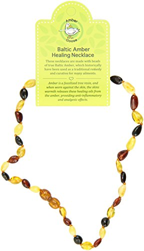 "Momma Goose Teething Necklace, Multi, 15"" - 1"