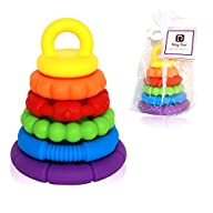 Stacking Building Toys – Teething Rin…
