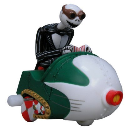 "Neca Nightmare Before Christmas ""Jack"" Wind Up Snowmobile ""Jack"" - 1"