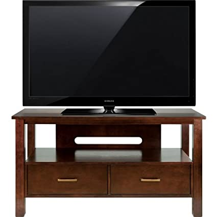 "Bell'O TV Stand for TVs up to 46"", Espresso"