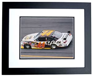 Dale Jarrett Autographed Hand Signed Nascar 8x10 Photo - BLACK CUSTOM FRAME - 2014... by Real Deal Memorabilia