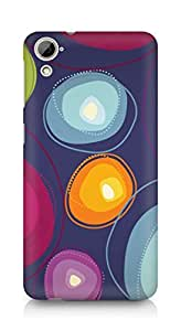 Amez designer printed 3d premium high quality back case cover for HTC Desrie 826 (Abstract 33)