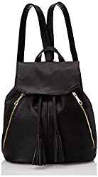 POVERTY FLATS by rian 3D Panel Backpack, Black, One Size