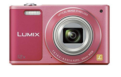 Panasonic デジタルカメラ ルミックス SZ10 光学12倍 ピンク DMC-SZ10-P