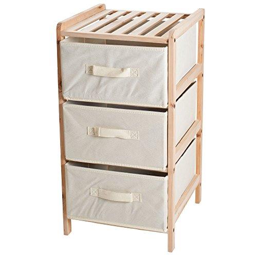 lavish-home-organization-wood-fabric-three-drawer-unit-with-shelf-top