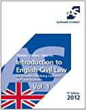 Introduction to English Civil Law: for German-Speaking Lawyers and Law Students Vol. 1