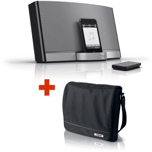 Bose Sounddock Portable Digital Music System & Sounddock Travel Bag