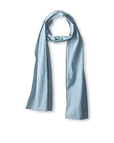 J.McLaughlin Men's Chambray Scarf, Blue