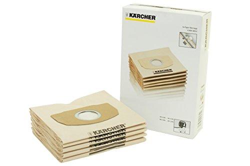 Karcher 5052094017 69044090 Polaire sac Filtre pour Aspirateur Compatible pour Kärcher WD5200