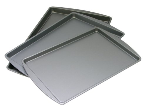 G & S Metal Products Company OvenStuff Non Stick Set of Three Cookie Pans
