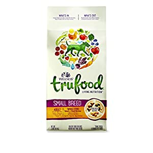 Wellness TruFood Baked Blends Natural Grain Free Dry Dog Food, Small Breed Chicken, Chickpeas and Chicken Liver Recipe, 2-Pound Bag