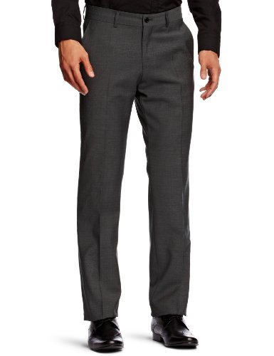 esprit 993EO2B902 Straight Men's Trousers Ash Grey XX-Large