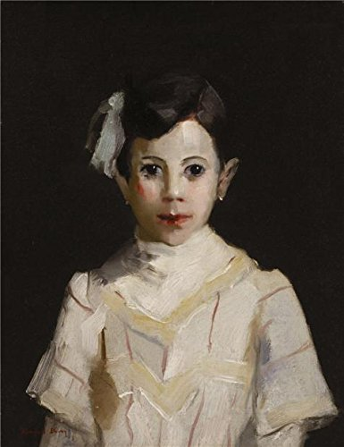 Oil Painting 'Randall Davey,Spanish Child In White,ca.1912', 10 x 13 inch / 25 x 33 cm , on High Definition HD canvas prints is for Gifts And Dining Room, Gym And Kitchen Decoration, huge (Valley Fifth Wheel Rails compare prices)