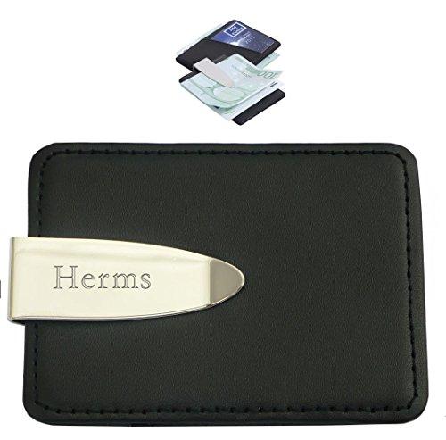 porte-carte-de-credit-avec-pince-a-billets-engraves-avec-un-texte-hermes