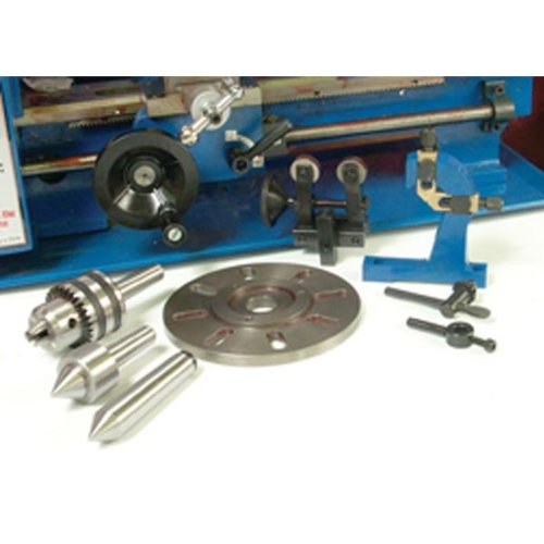 Amazon.com : 7 Piece Metal Lathe Accessory Kit Speedway