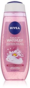 Nivea Touch of Water Lily Hydrating Shower Gel 16.9 Ounce