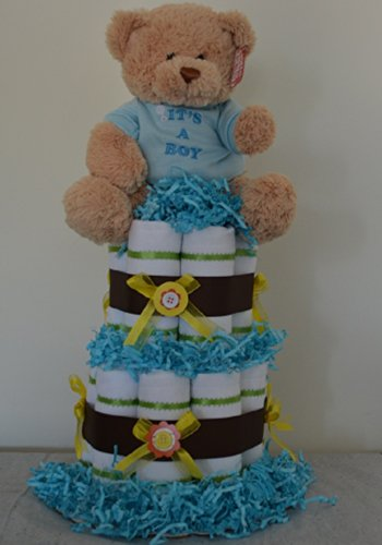 Neutral Diaper Cake