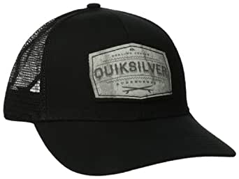 Quiksilver - Mens Weeks Trucker Hat, O/S, Black