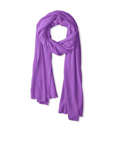 Portolano Women's Light Weight Cashmere Wrap, Royal Lilac