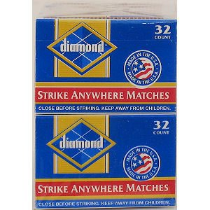 Diamond Strike Anywhere Matches