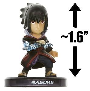 "Sasuke ~1.6"" Mini-Figure with Stand: Naruto Shippuden - Uzumaki Nindoden [Legend of Nin-do] Figure Series (Japanese Import)"