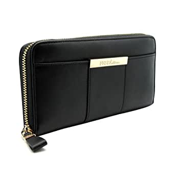 Gianfranco Ferre GF ZX5CR1 80550 U900 Ladies' Salgemma Black Multifunction Zippered Large Wallet