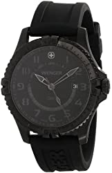 Men's Wenger 77073 Squadron GMT PVD Watch
