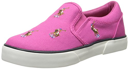 Polo Ralph Lauren Kids Bal Harbour Repeat Multi Pony Sneaker (Toddler/Little Kid),Pink,10 M Us Toddler