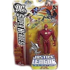 Buy Low Price Mattel DC Super Heroes Justice League Unlimited Action Figure The Flash (B000JRL4HW)