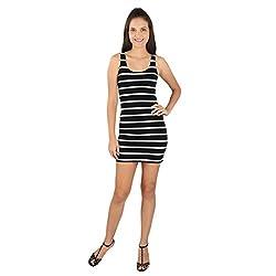Tenn Women's Mini Dress (BKHS11NSXS_Large_Black)