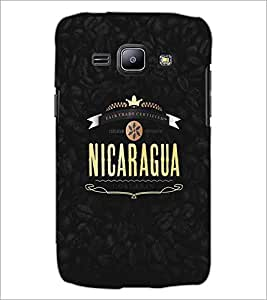 SAMSUNG GALAXY J1 TEXT Designer Back Cover Case By PRINTSWAG