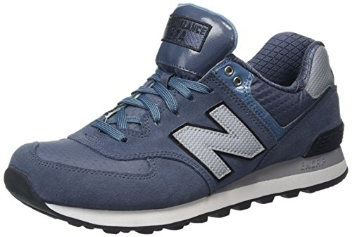 New Balance ML574CUB-574 - Scarpe Running Uomo, Multicolore (Thunder/Multi 161), 44.5 EU