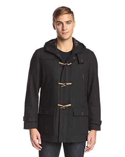 Nautica Men's Hooded Duffel Coat
