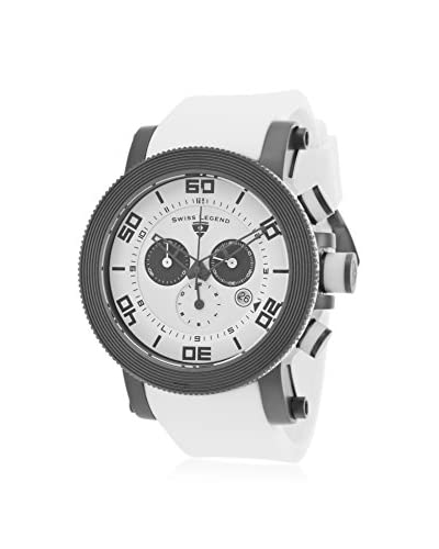Swiss Legend Men's 30465-GM-02 Cyclone White Silicone Watch