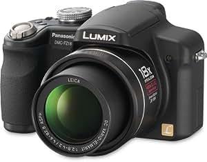 Panasonic Lumix DMC-FZ18K 8.1MP Digital Camera with 18x Wide Angle MEGA Optical Image Stabilized Zoom (Black)