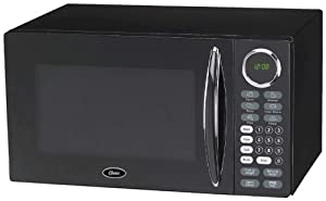 Oster OGB8902 0.9-Cubic Feet Microwave Oven, Black by Oster