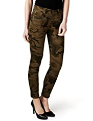 Limited Collection Cotton Rich Camouflage Trousers
