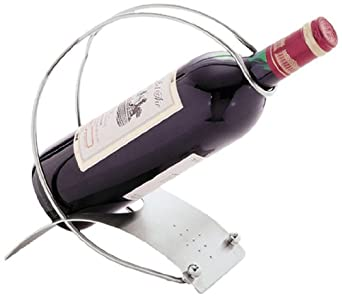 Carlisle 609106 Metal Single Bottle Free Standing Countertop Wine Holder