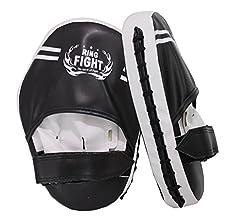 Ring Fight Hook & Jab Focus Pad Black/White